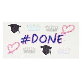 Graduation Face Stickers,