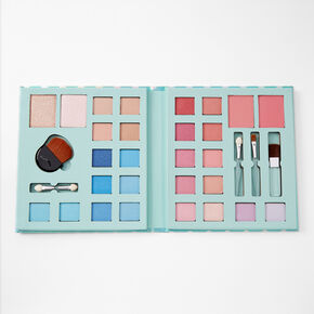 Polka Dot Portfolio Makeup Set - Mint,
