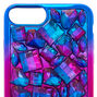 Purple Ombre Stone Phone Case,
