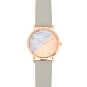 Rose Gold & Marble Watch,