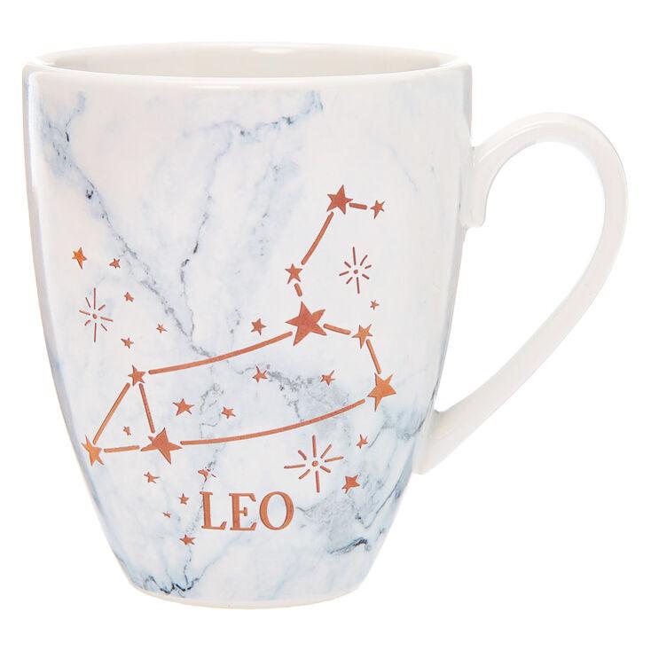 Ceramic Marble Zodiac Mug - Leo,