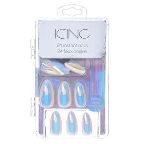 Iridescent Instant Nails,