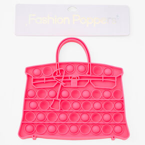 Fashion Poppers Purse Fidget Toy - Pink,