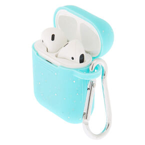 Mint Silicone Earbud Case - Compatible With Apple Airpods,