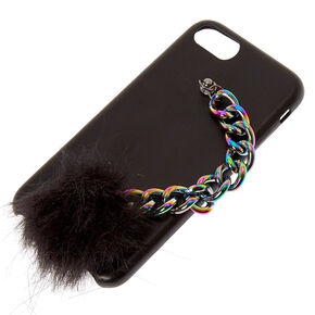 Holographic Rainbow Chain Phone Case,