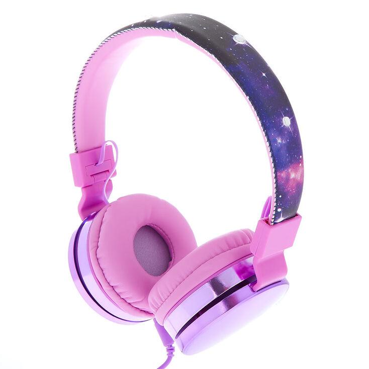Galaxy Headphones - Purple,