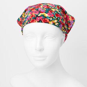 Floral Scarf Headwrap,