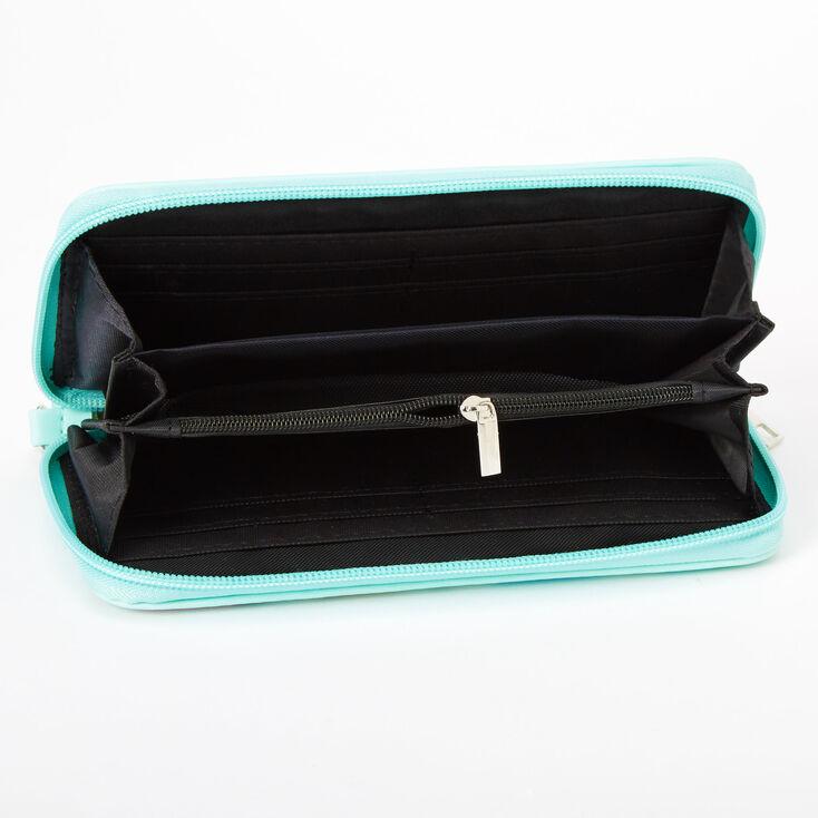 Pastel Arrow Wristlet - Mint,