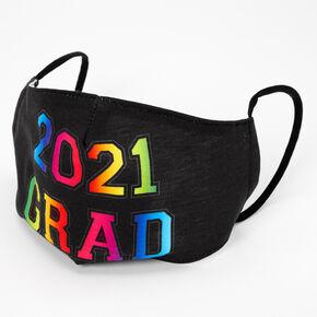 2021 Grad Face Mask - Black,