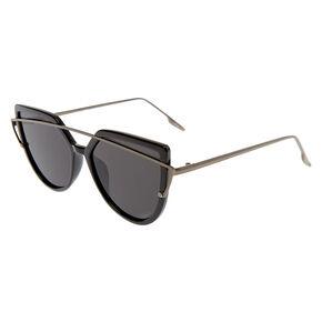 Black Brow Bar Cat Eye Sunglasses,