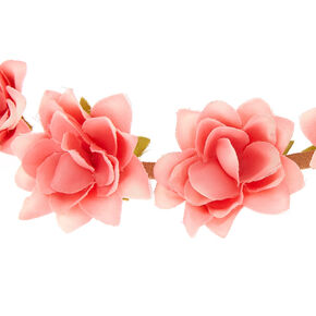 Festival Flower Crown Headwrap - Pink,