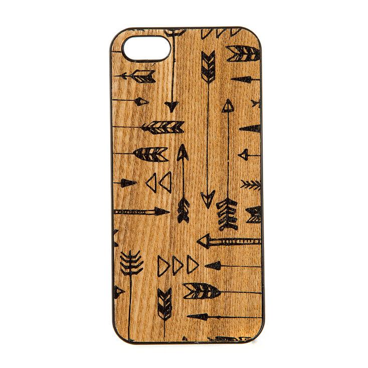 Arrows on Wood Phone Case,