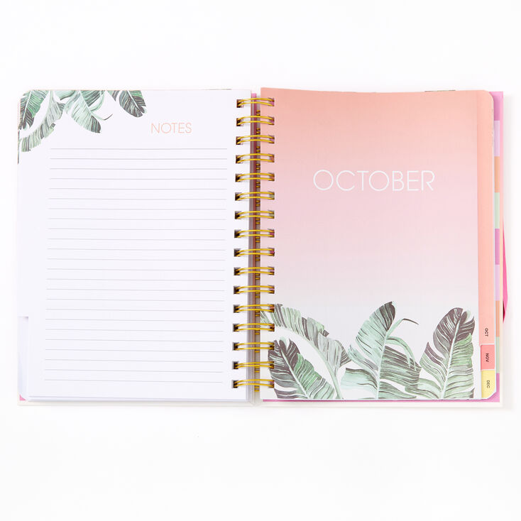 This Girl Has Plans Ombre Tropical Daily Planner,