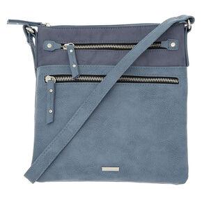 Midi Passport Crossbody Bag - Blue,