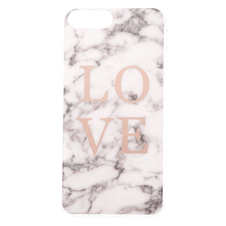 Love Marble Phone Case - Fits iPhone 6/7/8 Plus,