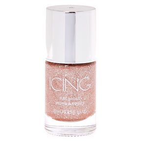 Glitter Nail Polish - Rose Sand,