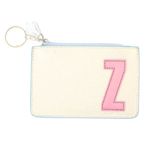 Pearlescent Initial Coin Purse - Z,