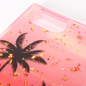 Palm Tree Sunset Square Phone Case - Fits Iphone 6/7/8+,