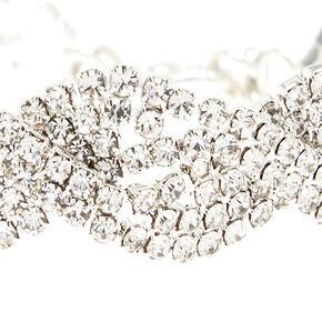 Silver Twist Chain Bracelet,