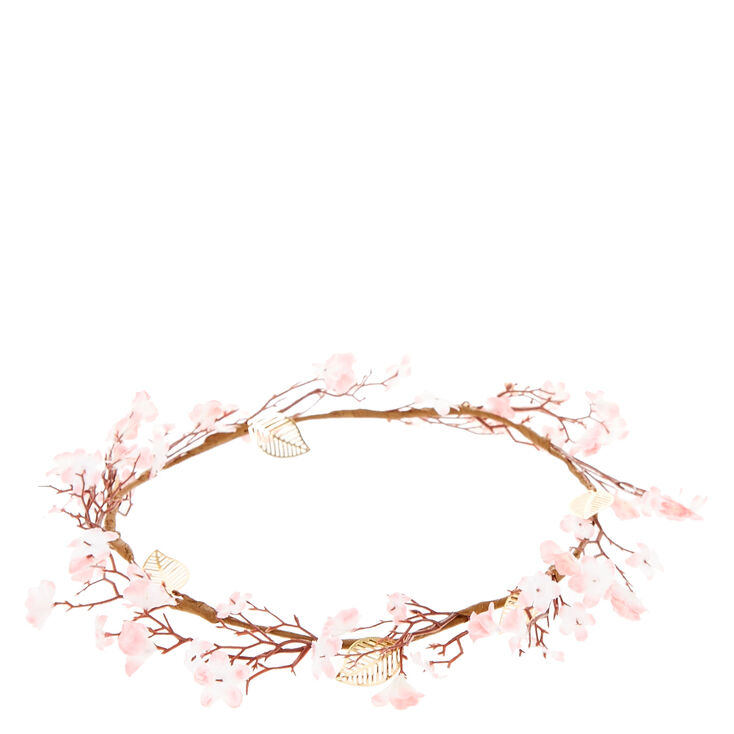 Cherry Blossom Flower Crown,