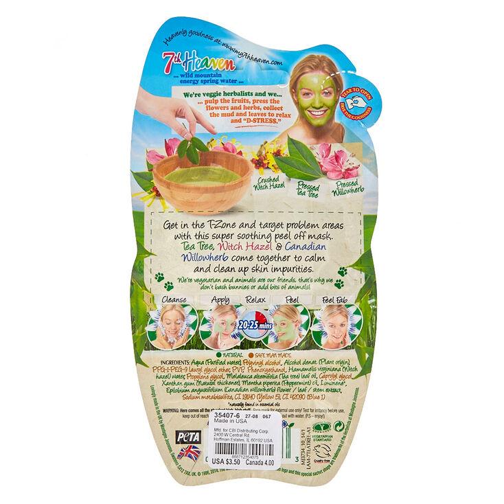 7th Heaven Tea Tree Peel-Off Mask,