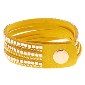 Western Wrap Bracelet - Yellow,