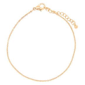 Rose Gold Chain Bracelet,