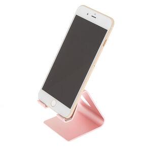 Metallic Phone Stand - Pink,