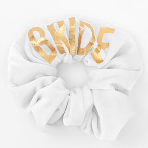 Bride Scrunchie - White,