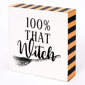 100% That Witch Word Block,