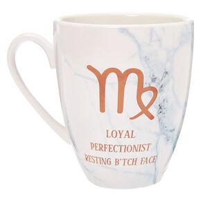 Ceramic Marble Zodiac Mug - Virgo,