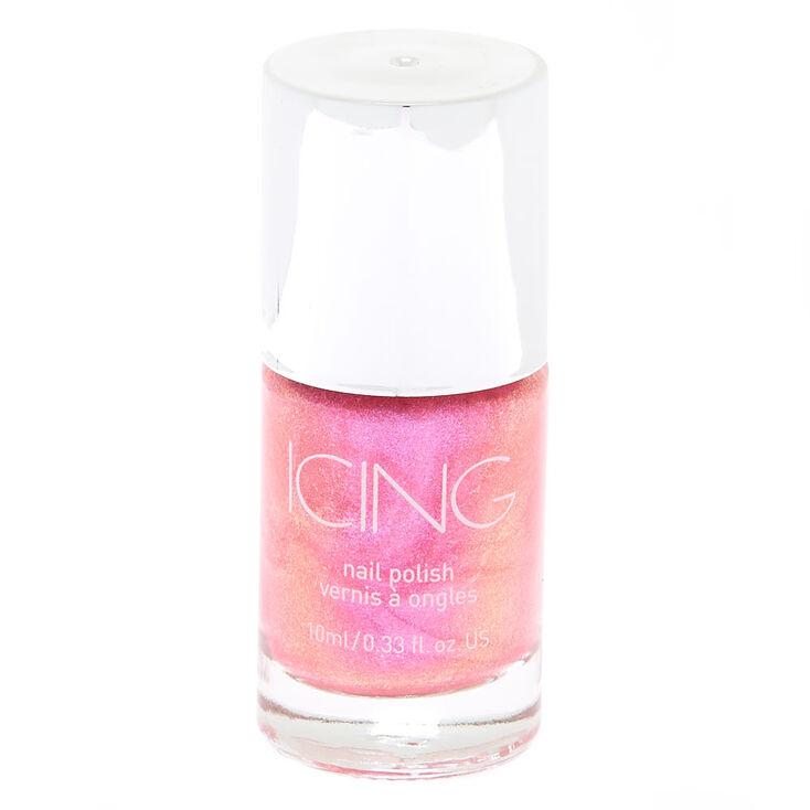Iridescent Nail Polish - Pink,