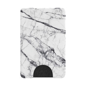 PopSockets Swappable PopGrip - White Marble,