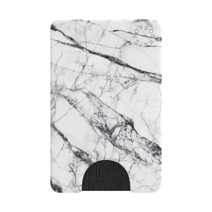 PopWallet White Marble,