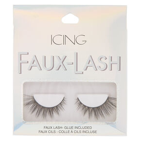 Wispy False Lashes - Black,