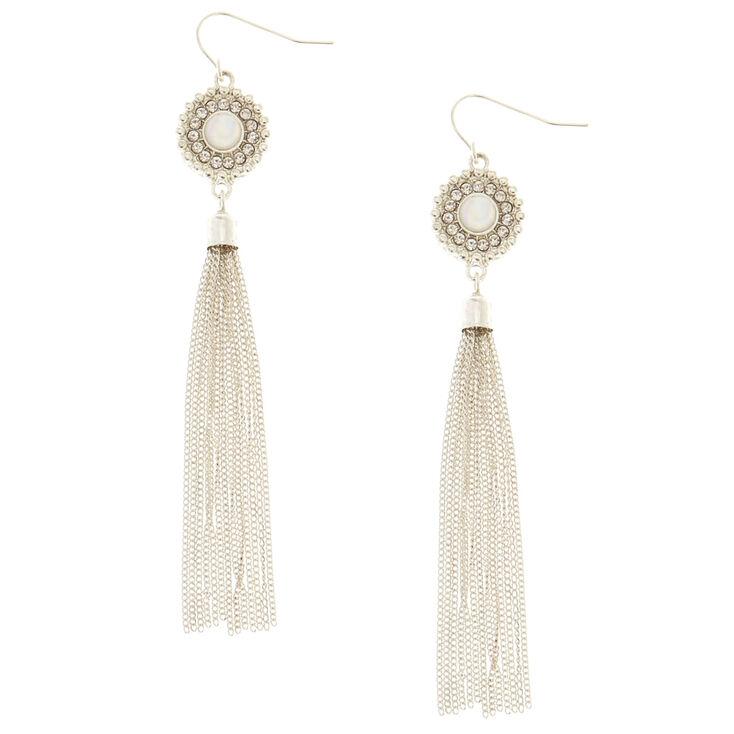 Aria Fringe Drop Earrings,