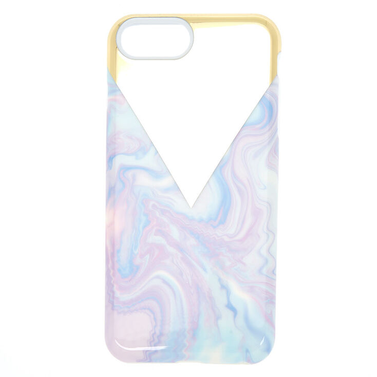 Pastel Swirl Protective Phone Case - Fits iPhone 6/7/8 Plus,