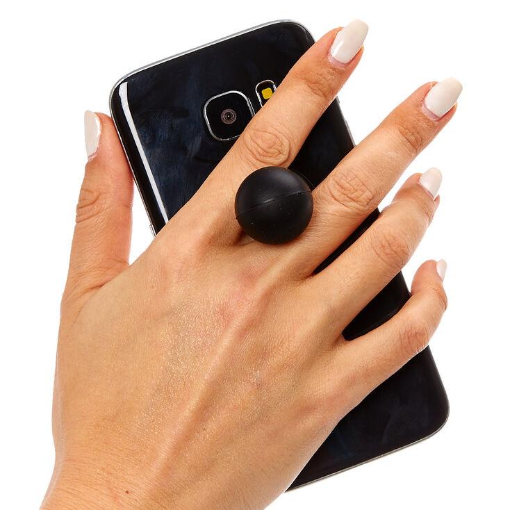 Black Gumball Phone Stand,