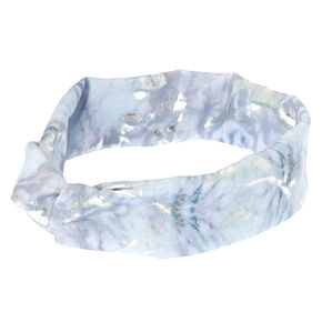 Marble Knot Headwrap - White,