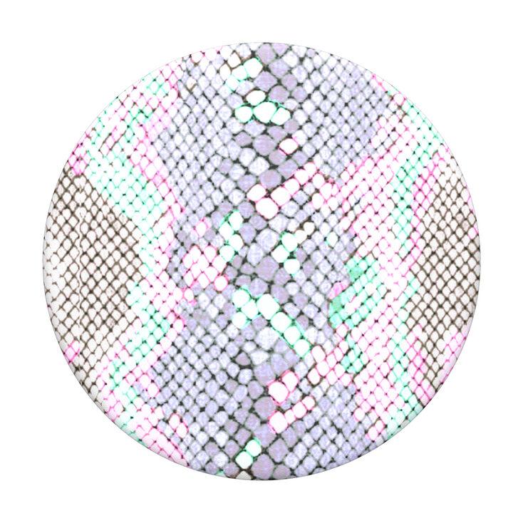 PopSockets Swappable PopGrip - Pastel Snakeskin,