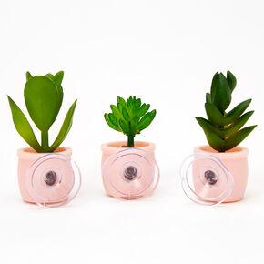 Mini Faux Succulent Trio,