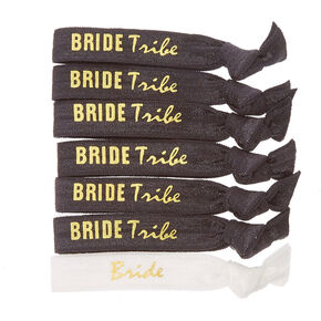Bride Tribe Hair Ties - 7 Pack,