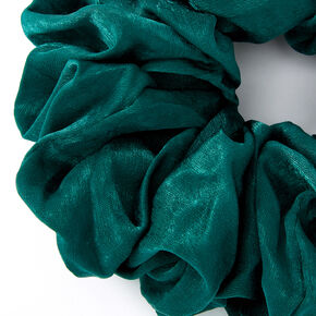 Giant Hair Scrunchie - Emerald,