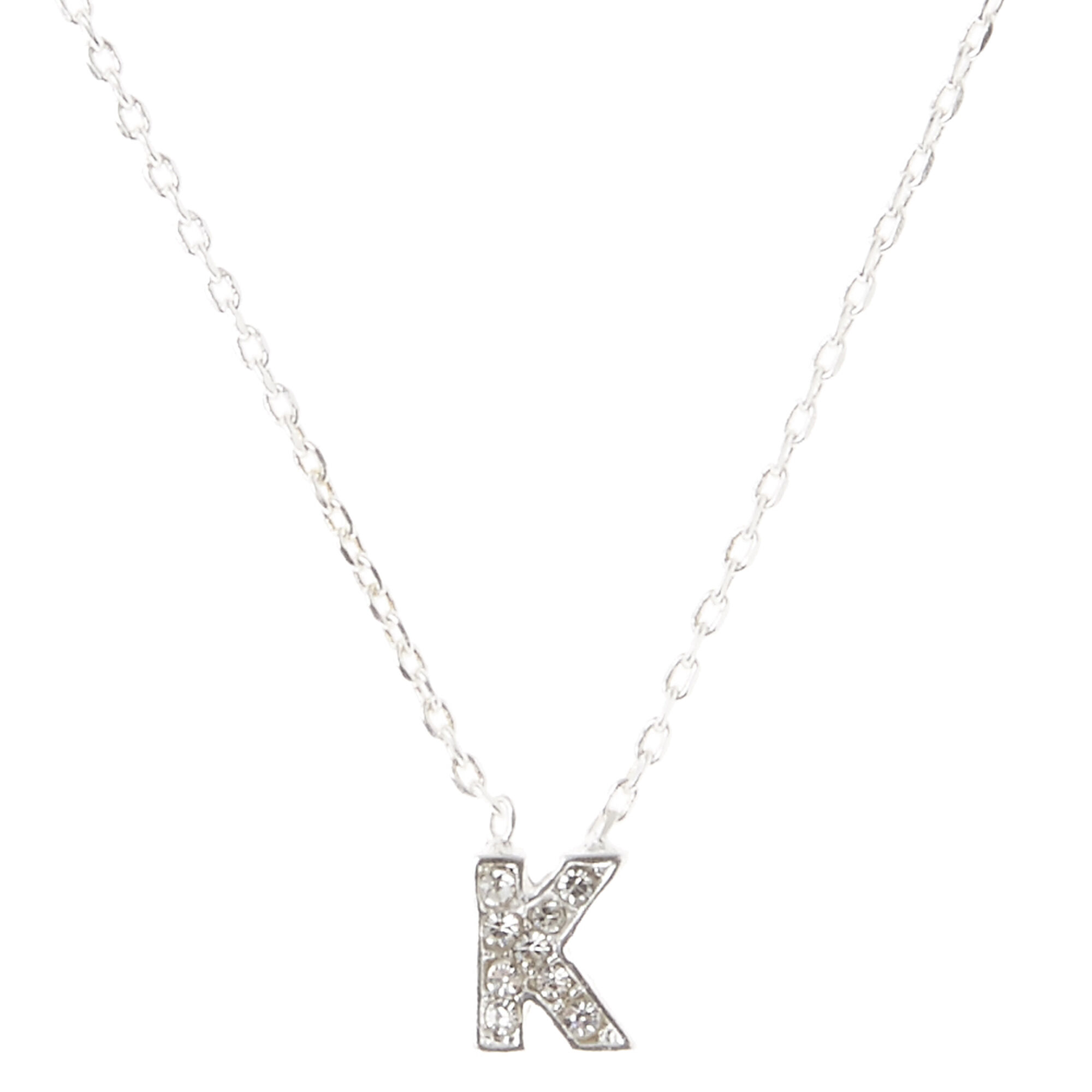 Initial k necklace necklace wallpaper gallerychitrak k pendant initial necklace icing us aloadofball Gallery