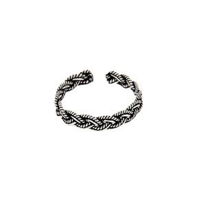 Sterling Silver Antique Toe Ring,