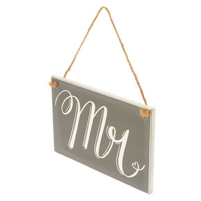 Mr. Chalkboard Chair Sign,