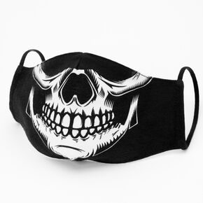 Cotton Skull Face Mask - Adult,
