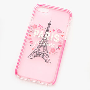 I Love Paris Eiffel Tower Phone Case - Fits iPhone 6/7/8/SE,