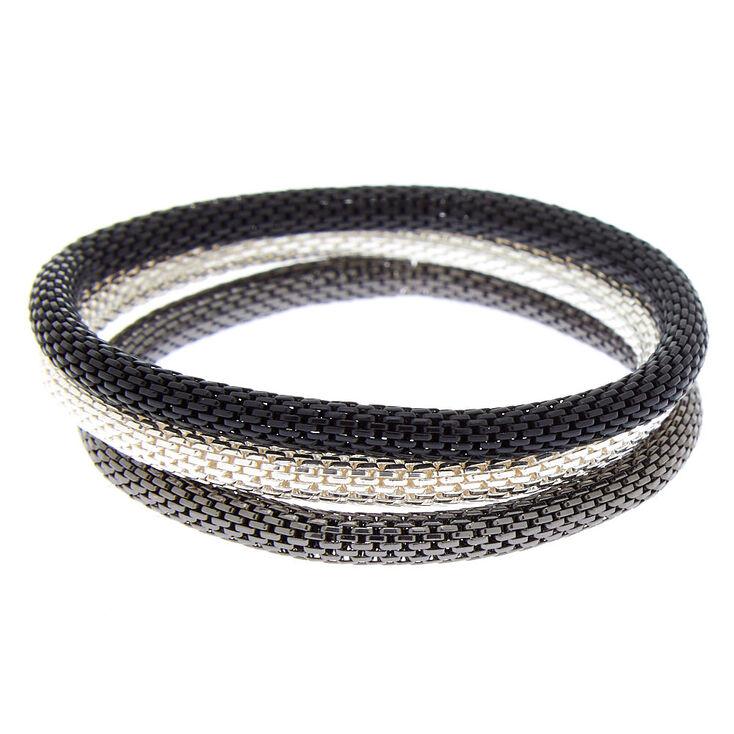 Chain Stretch Bracelets - 3 Pack,