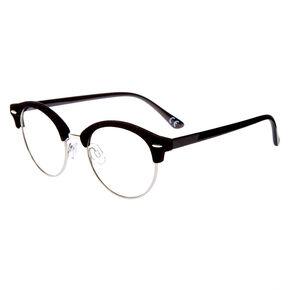 Velvet Browline Frames - Black,